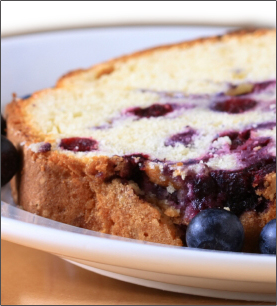 Blueberry Apple Sauce Loaf