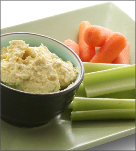 Curry Vegetable Dip