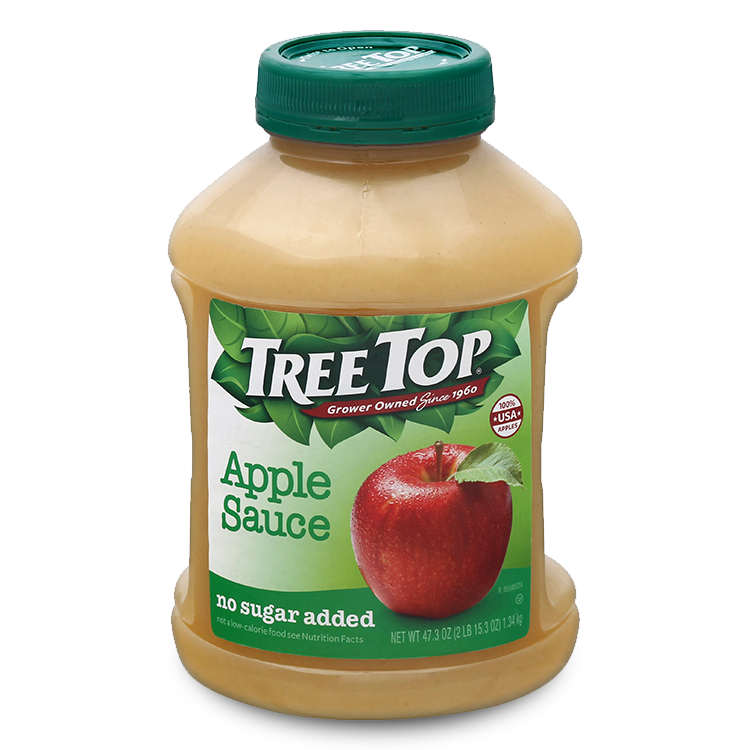 Tree Top Apple Sauce no sugar added