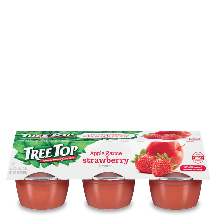 Tree Top Apple Sauce Strawberry