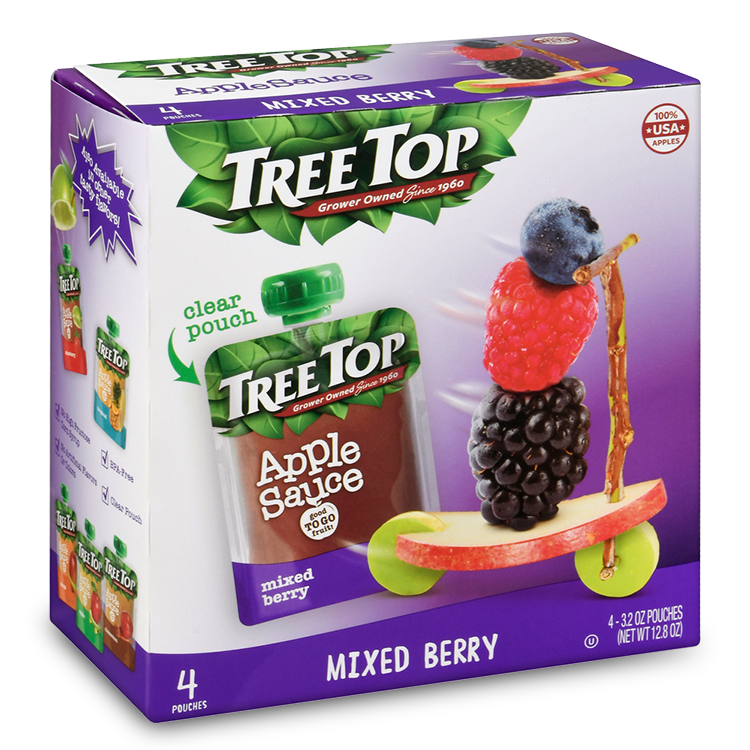 Tree Top Apple Sauce Mixed berry