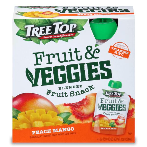 Tree Top Fruit and Veggies Fruit Snack