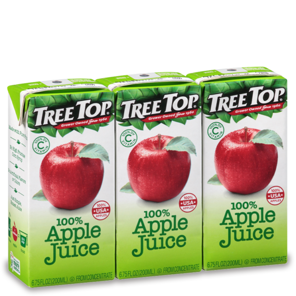 Tree Top Juice box 6 pack