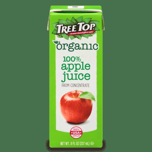 Tree Top Organic Juice box