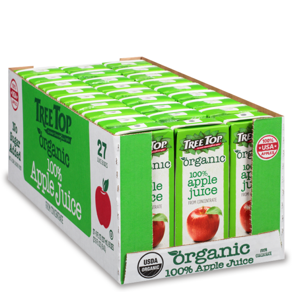 Organic Apple Juice 8oz 27 pack