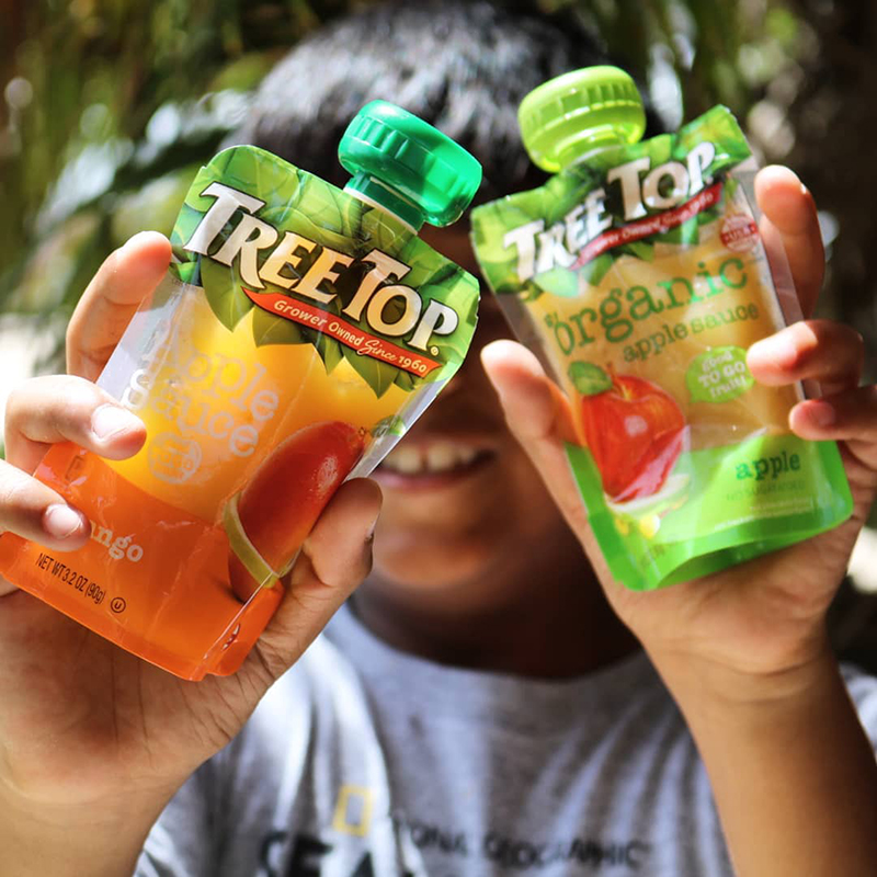 Tree Top Clear Pouches