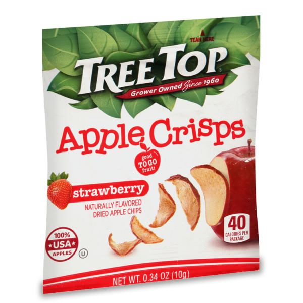 Strawberry Flavored Apple Crisps