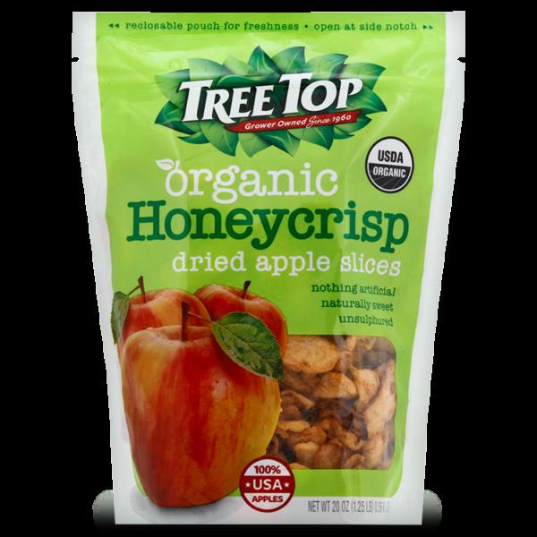 Organic Honeycrisp Dried Apple Slices