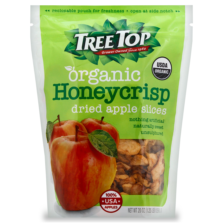 Organic Honeycrisp Dried Apple Slices