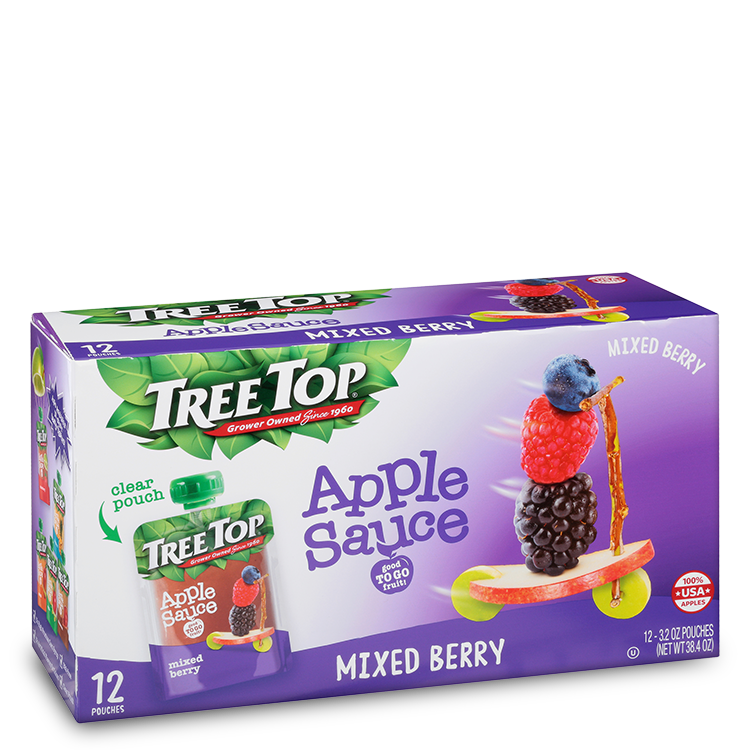 Tree Top Mixed Berry Applesauce