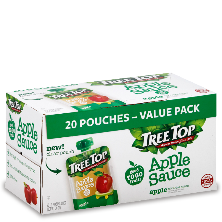 Tree Top No Sugar Added Applesauce