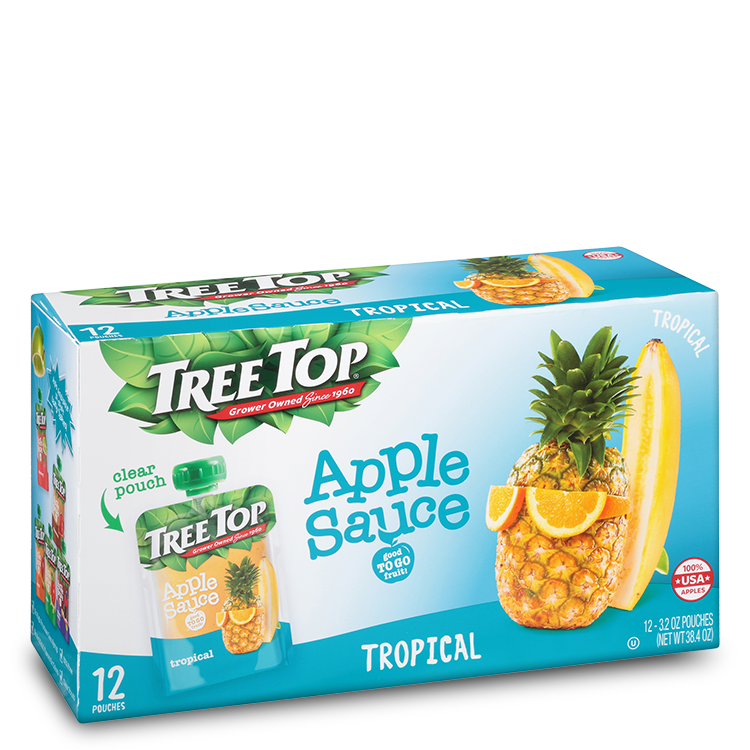 Tree Top Tropical Applesauce
