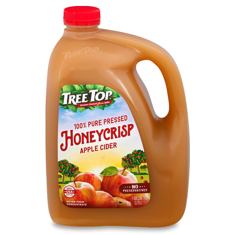 Honeycrisp Pure Pressed Apple Cider, 128oz