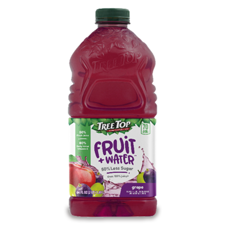 Fruit + Water 64oz Grape