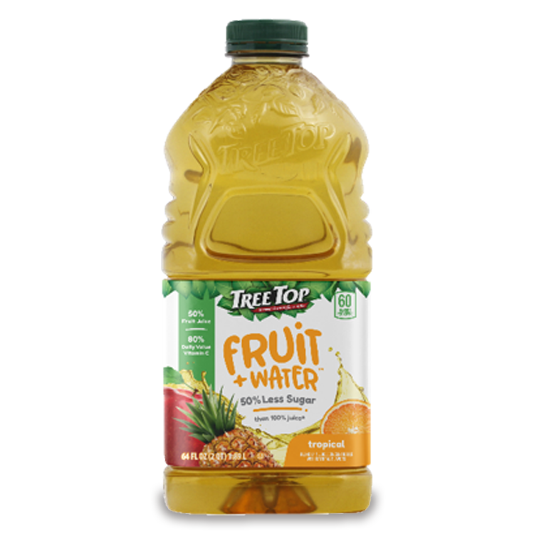 Fruit + Water 64oz Tropical